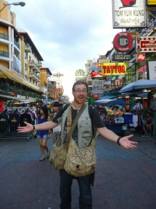 Graham Hughes in Thailand