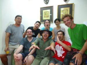 Graham Hughes CouchSurfing in Singapore