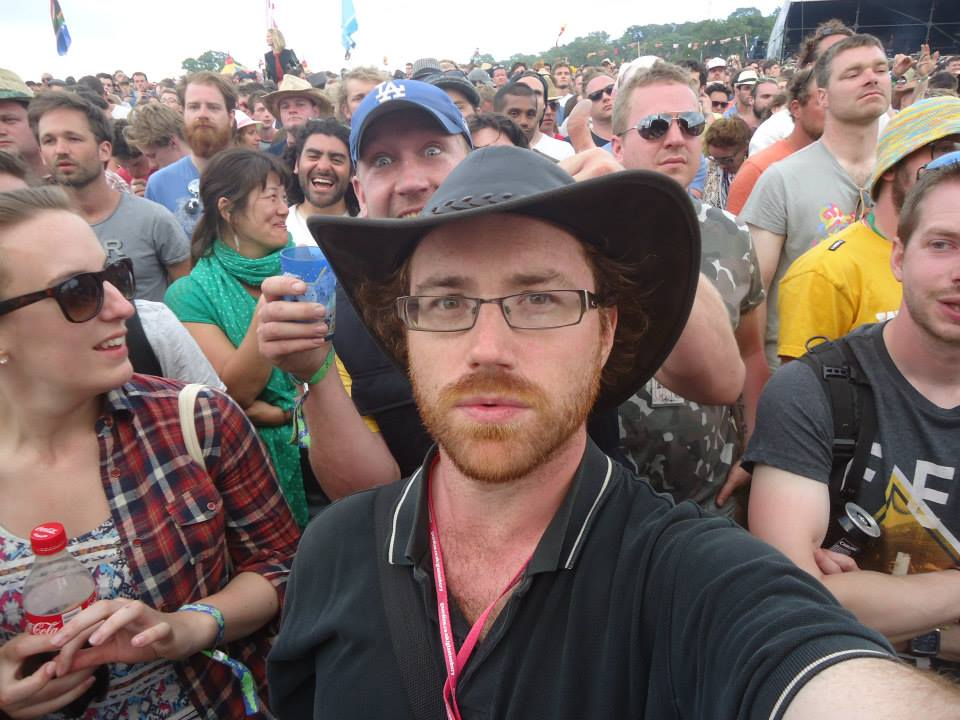 Graham Hughes at Glastonbury 2013