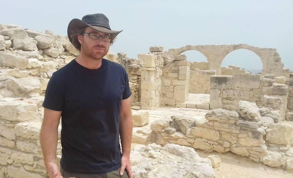 Graham Hughes in Cyprus