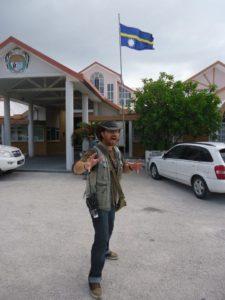 Graham Hughes in Nauru 2