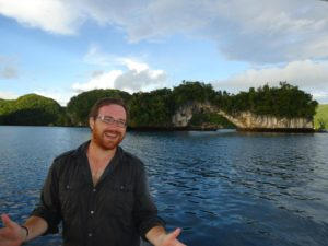 Graham Hughes in Palau