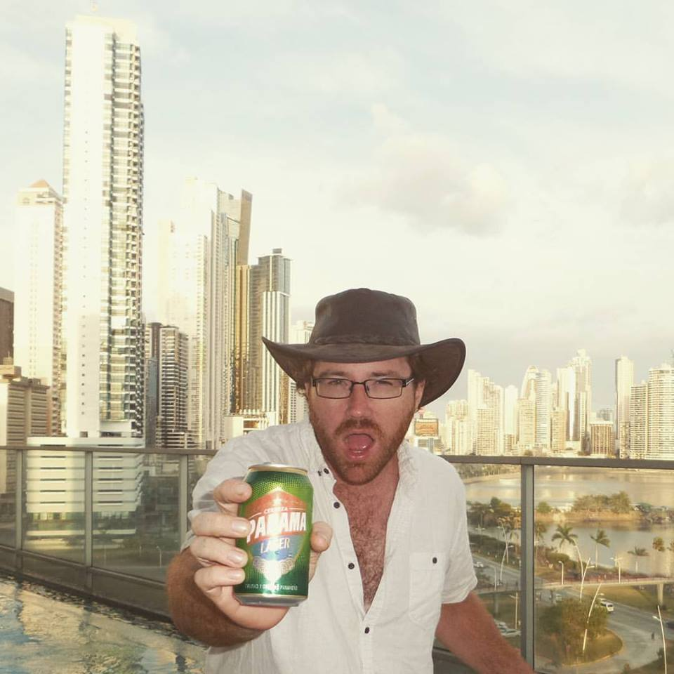 Graham Hughes in Panama City