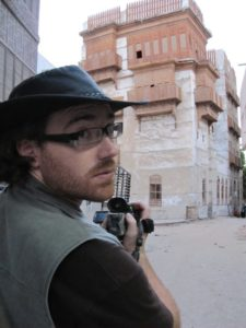 Graham Hughes in Saudi